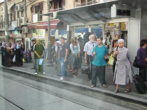 A cross-section of Jerusalem's population