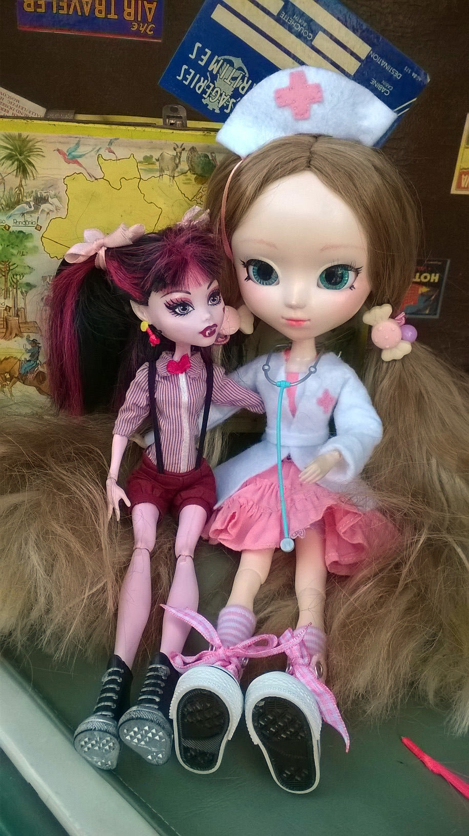 Monster High e Pullip