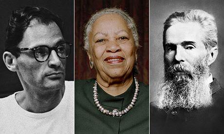 Arthur Miller, Toni Morrison, Walt Whitman