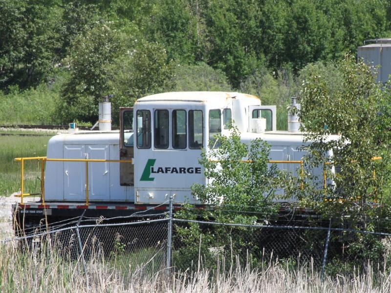 Lafarge switch engine in Winnipeg