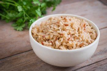 eating brown rice  day good   healthy
