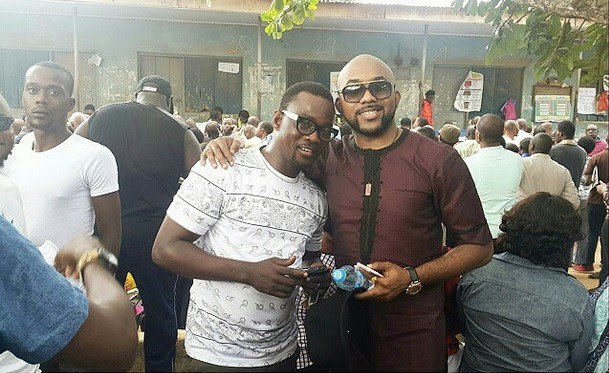 2face Idibia, Banky W, Mercy Aigbe & More Celebs Troop Out To Vote (Photos)