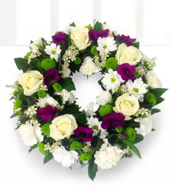 How To Make Your Own Sympathy Wreath Flower Press