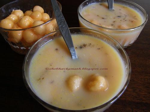 Musk Melon Harshalen (sweet dish)