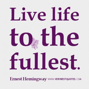 Imágenes De Quotes Live Life To The Fullest With No Regrets
