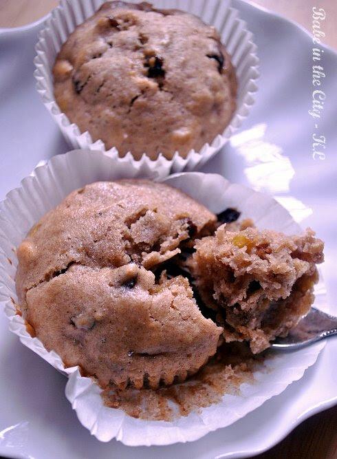 Spiced Soured Cream Cupcakes