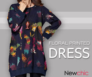 Women O Neck Feather Printed Straight Dress