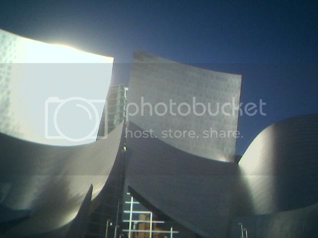 The Walt Disney Concert Hall. I love almost every big building in downtown LA, but this one looks like shit to me
