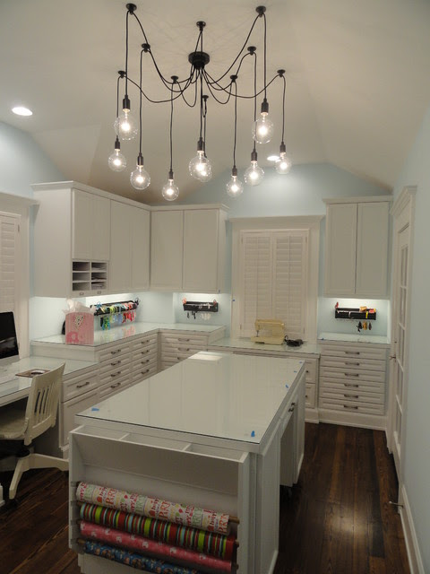 Craft Room - traditional - home office - houston - by ...