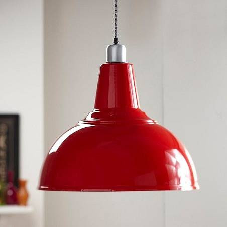 retro kitchen pendant light by the contemporary home  notonthehighstreet.com