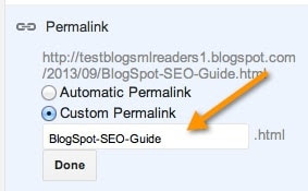 Custom-BlogSpot-Permalink