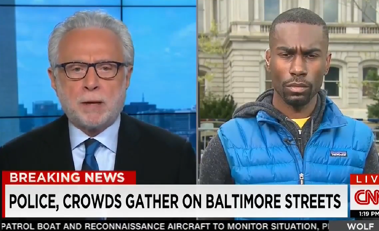 Interview of Deray McKesson by Wolf Blitzer on CNN