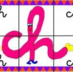 ch 150x148 Crea entretenidos puzzles con las letras del abecedario