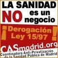 Da tu apoyo a la Sanidad Pública en Madrid