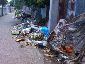 Denuncian cúmulos de basura en sectores de Dajabón