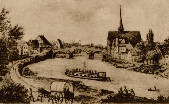 champigny sur yonne et senonais sens le 18 mai 1913 il y a cent ans on inaugurait le pont. Black Bedroom Furniture Sets. Home Design Ideas