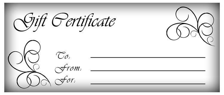 1000+ ideas about Free Printable Gift Certificates on Pinterest ...