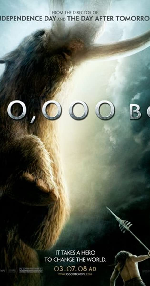 10,000 BC 2008  English Full Movie