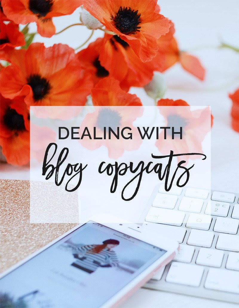 dealing with blog copycats: what to do when someone imitates you online