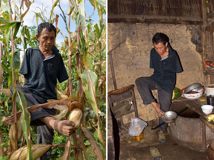 -doentes-Mãe-dentes-braços perderam-homem-alimentação-chen-Xinyin-20