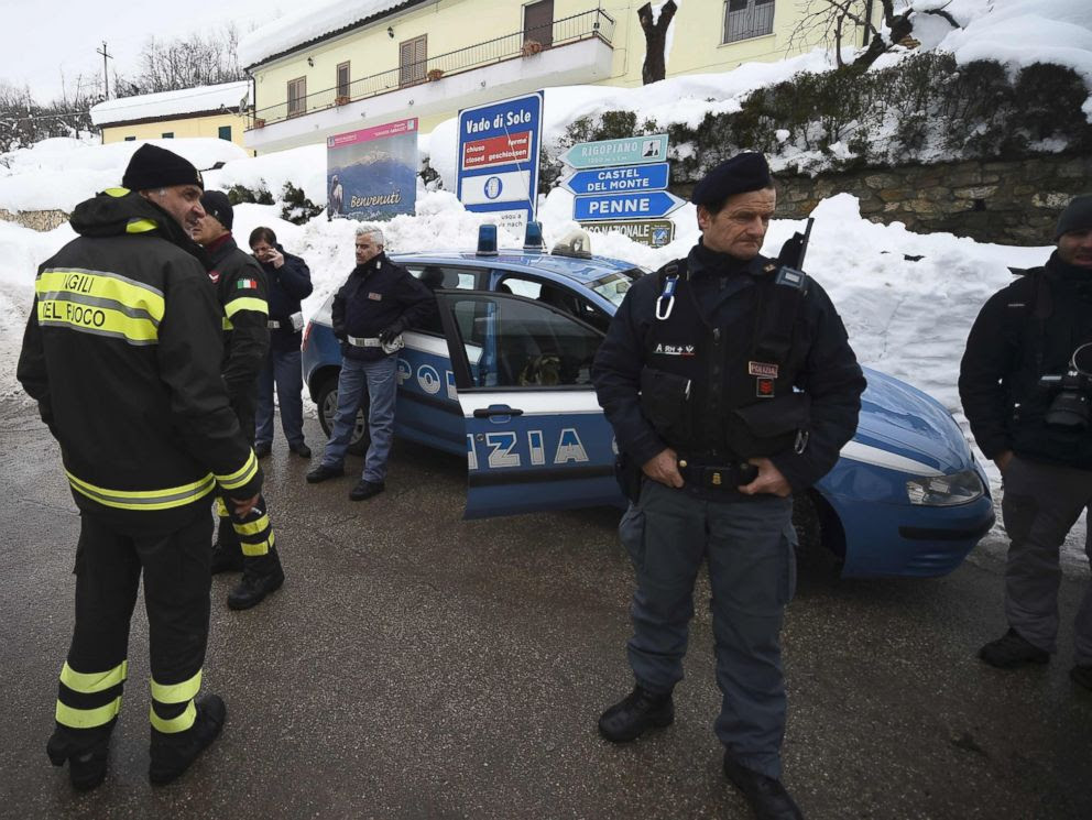 Image result for Italian Avalanche