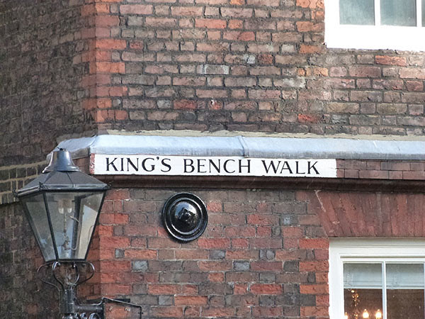 king's bench walk