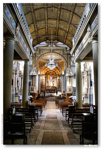 Interior do Santuário de Nossa Senhora da Nazaré by VRfoto