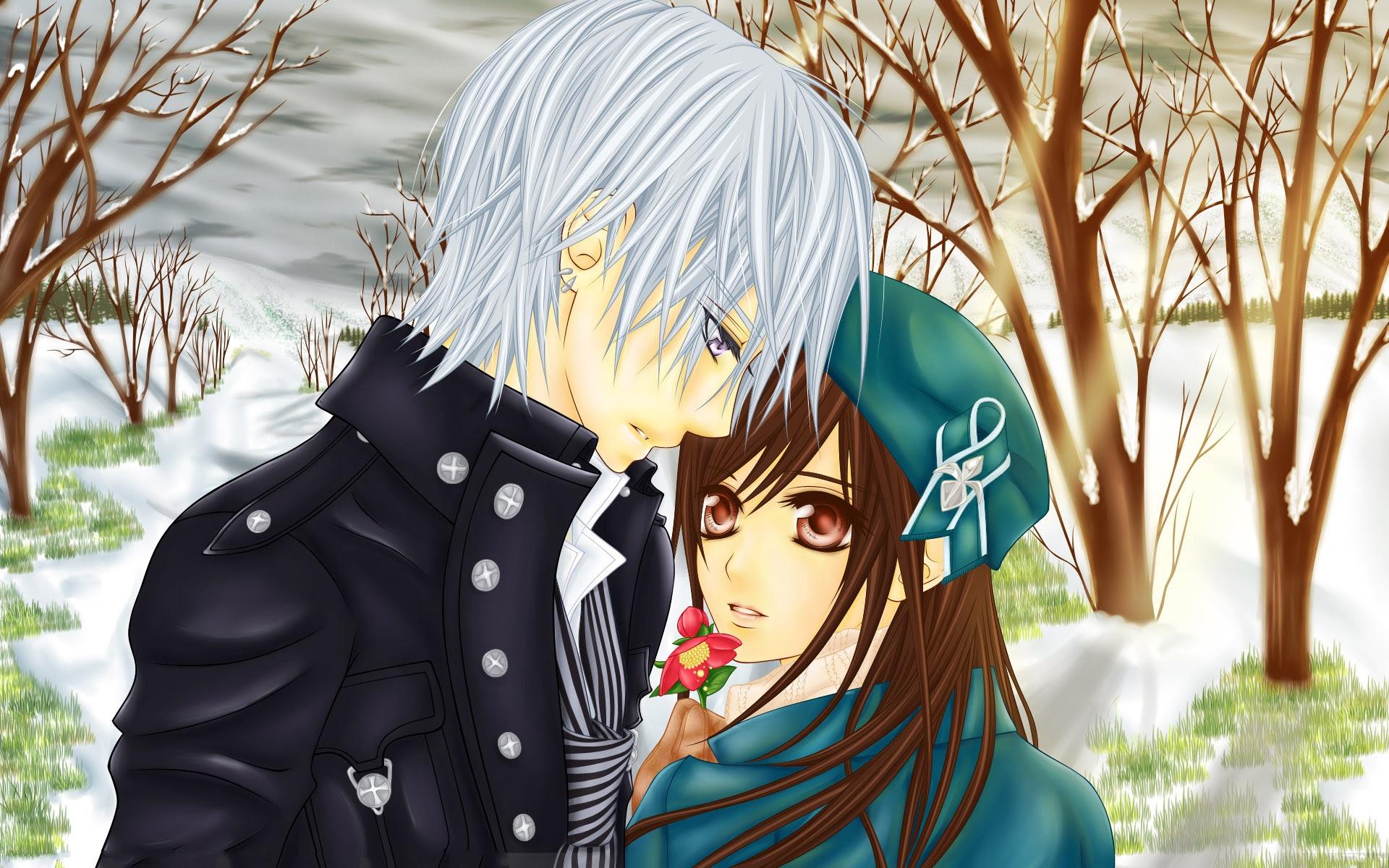 Cute Anime Couple HD Wallpapers | PixelsTalk.Net