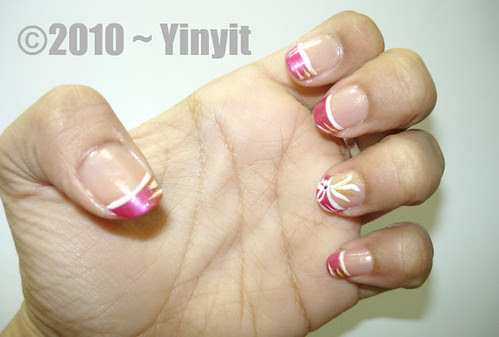 My First Nail Art~♥