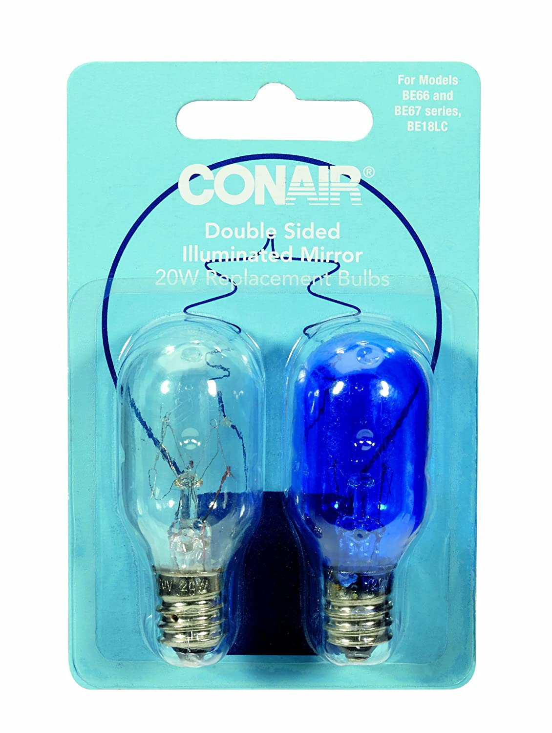Conair 20W Replacement Incandescent Bulbs , New, Free ...