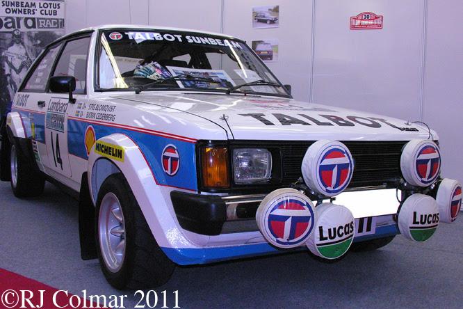 Talbot Sunbeam Lotus, Race Retro, Stoneleigh