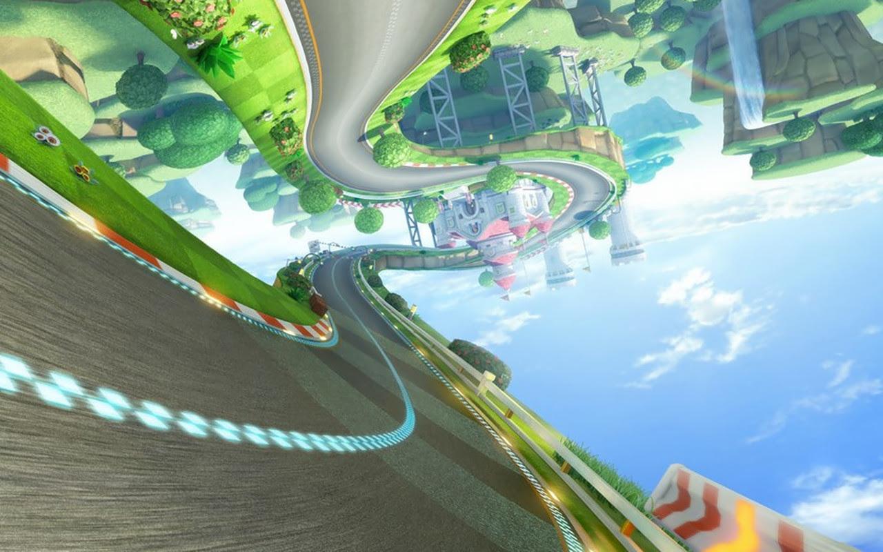 Mario Kart Background Sf Wallpaper