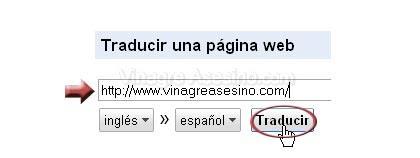 traductor web google Traductor Google