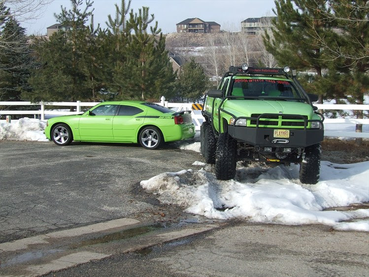 dodge trex finds his long lost twin brother  dodgeforum