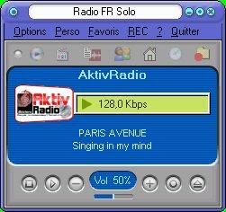 Ecoutez et enregistrez les radios avec Radio Fr Solo