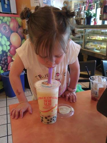 Moira's first bubble tea