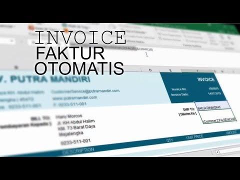 Cara Membuat Invoice Otomatis di Microsoft Excel