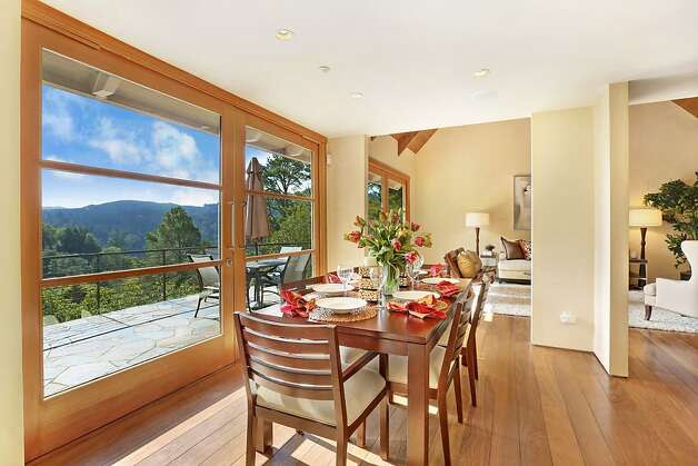 Architectural details highlight Mill Valley home - SFGate