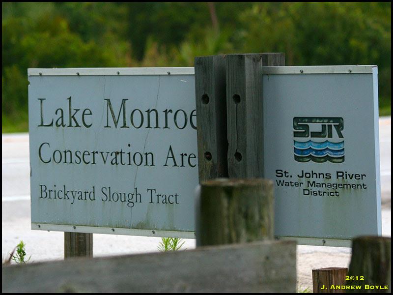Lake Monroe Sign