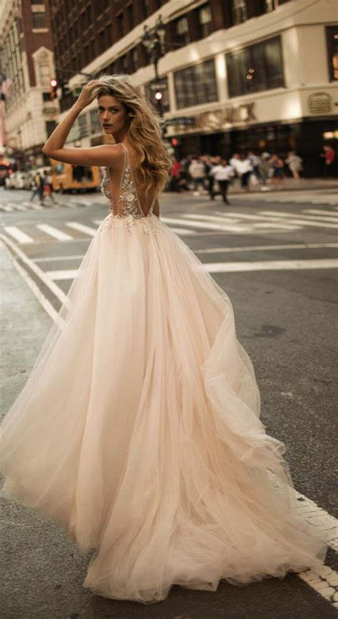 stunning berta  fallwinter wedding dresses
