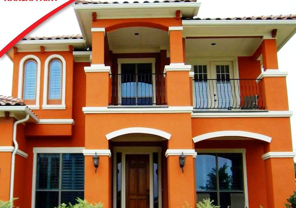Inspirasi cat rumah mewah model minimalis dan klasik trend ...