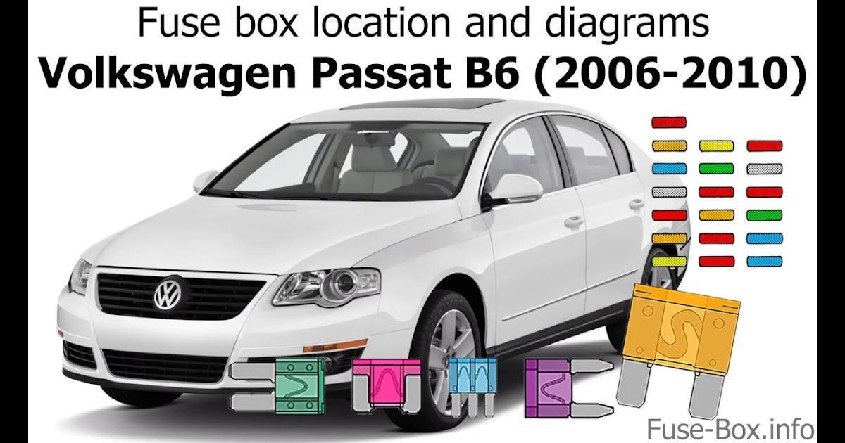 2006 Vw Passat 20 T Fuse Diagram