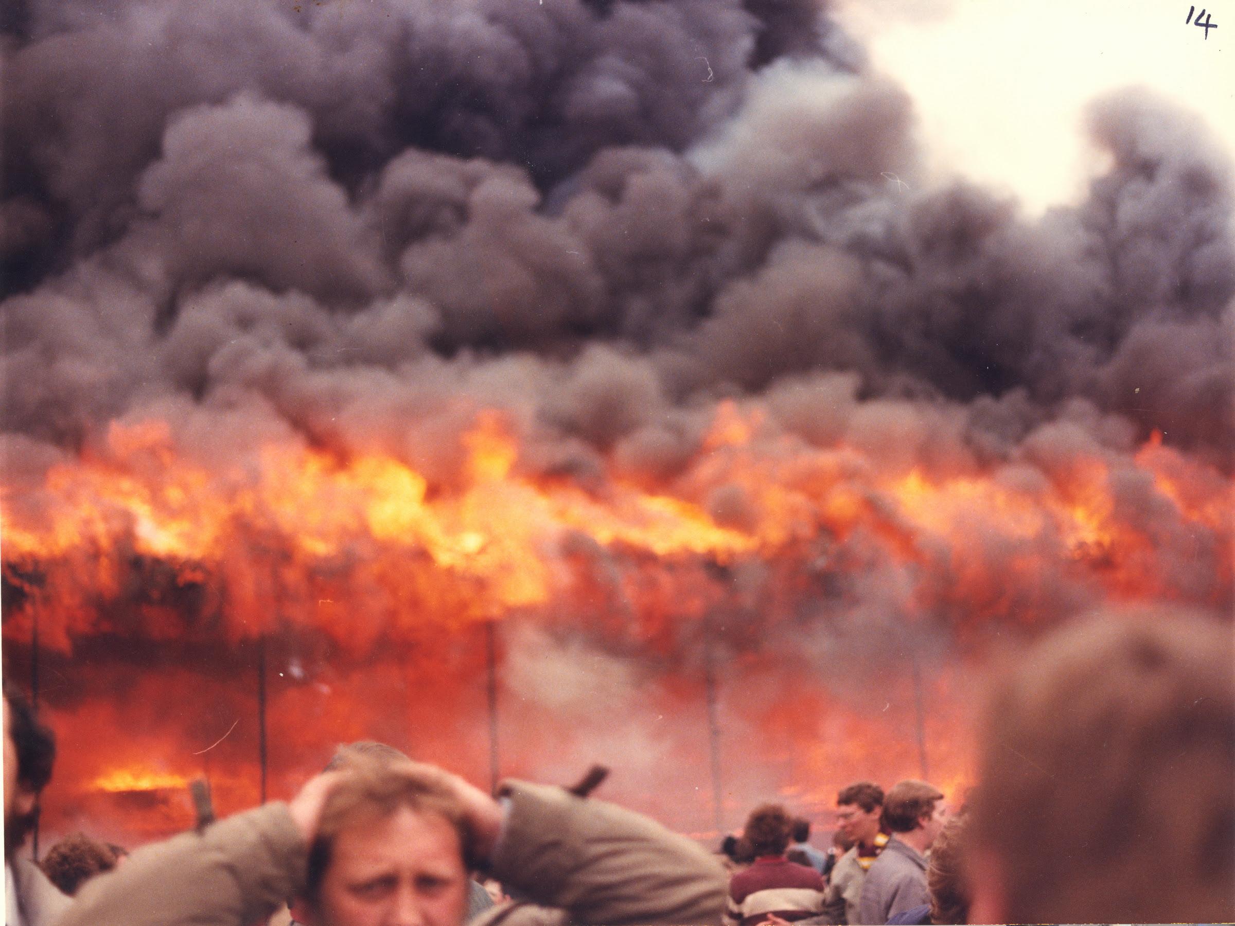 Bradford City Football Club. Fire Disaster 11 May 1985 ...