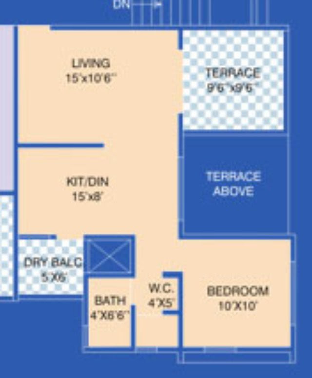 Reelicon Vishwa Narhe Ambegaon 1 BHK Flat 484 sq.ft. carpet + Terrace for Rs. 23. 86 (Launch Offer)