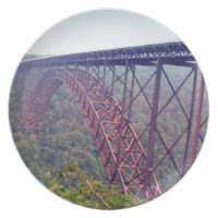 New River Gorge Bridge Dinner Plate