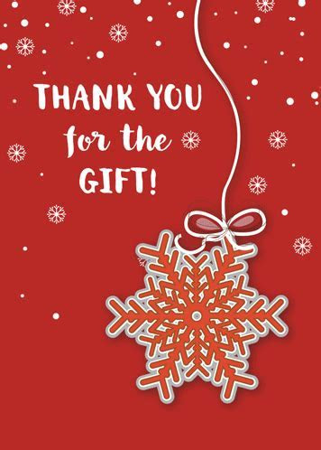 Thank You For Christmas Gift! Free Thank You eCards