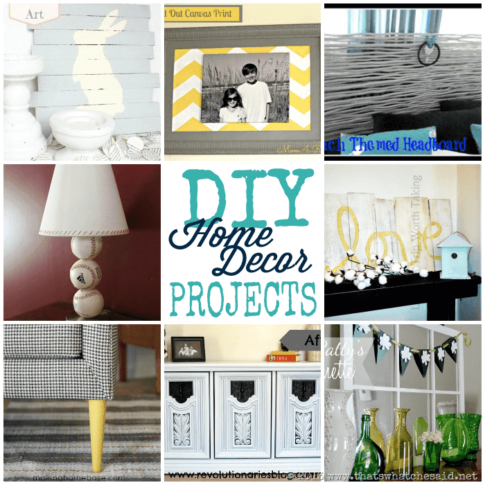 DIY Home Ideas - Monday Funday Link Party - That's What {Che} Said...