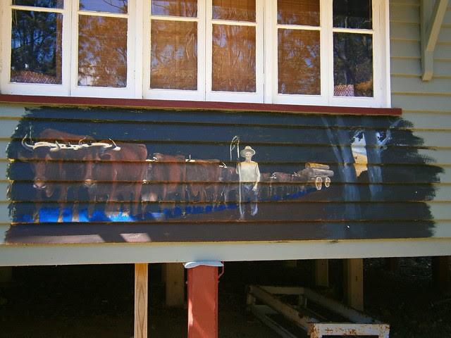 Bullocky Mural