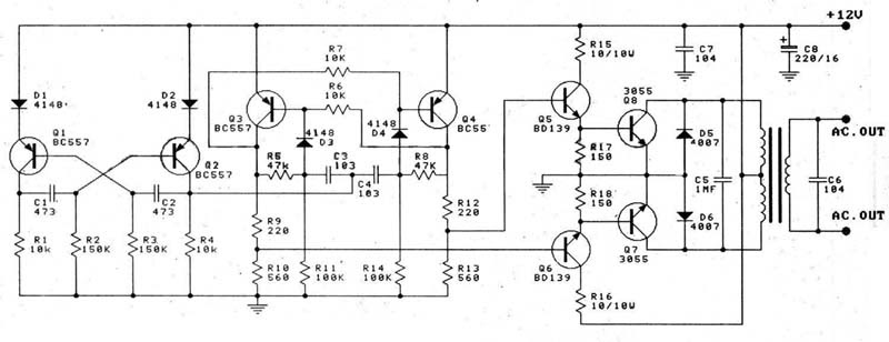 Inverter Circuit Diagram 1000w Pdf Circuit Diagram Images