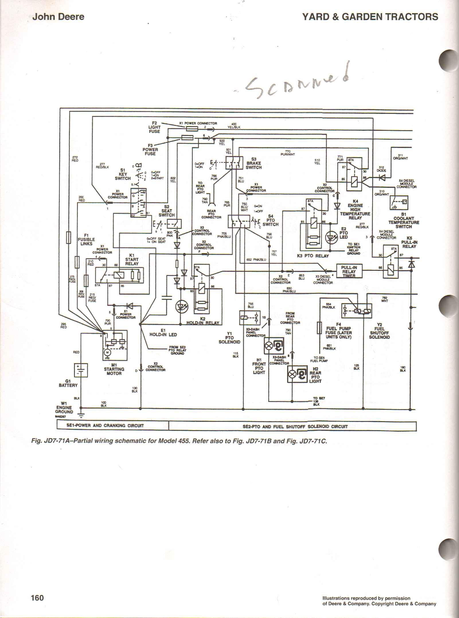 John Deere Lt150 Wiring Harnes